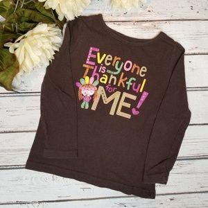 Jumping Beans   Toddler Thanksgiving Graphic Shirt